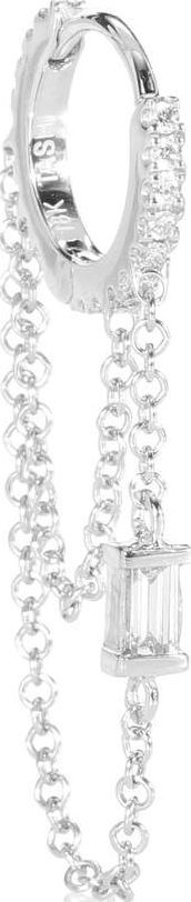Maria Tash Diamond Eternity 18kt gold and diamond earring