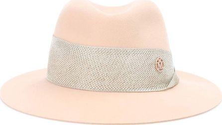 Maison Michel Henrietta rabbit-felt hat