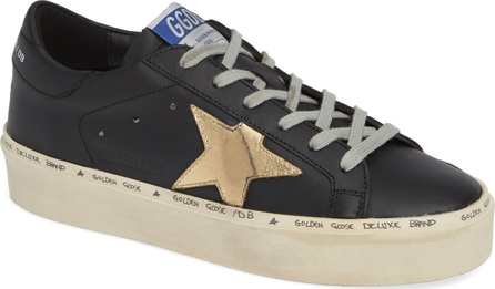 Golden Goose Deluxe Brand Metallic Star Low-Top Sneaker