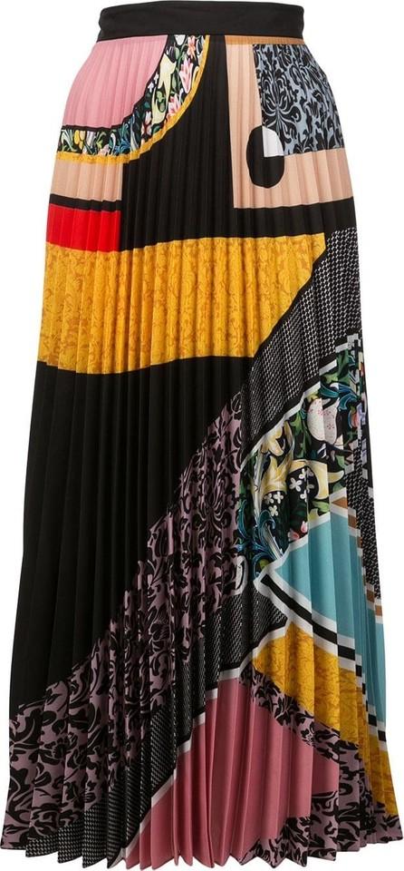Mary Katrantzou Multi-print pleated skirt