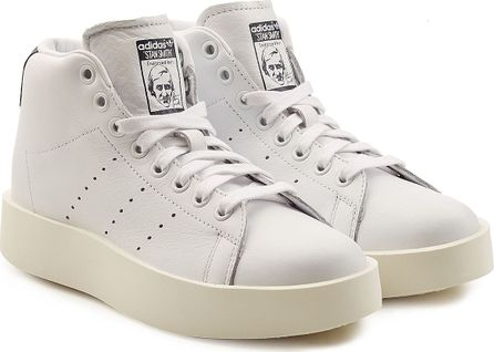 Adidas Originals Stan Smith Bold Platform Leather Sneakers