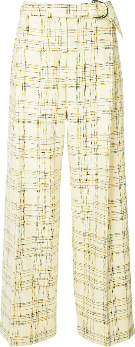 Bianca Spender Checked Chelsea trousers