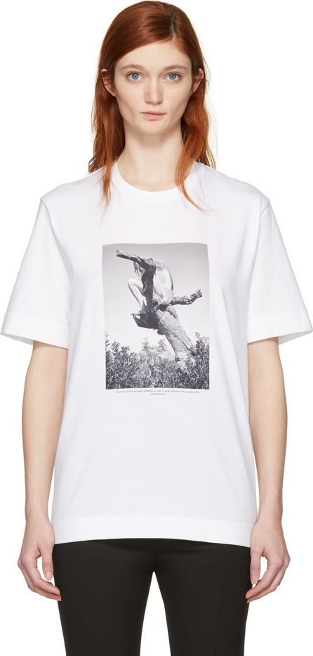 Jil Sander SSENSE Exclusive White Mario Sorrenti Edition 007 T-Shirt