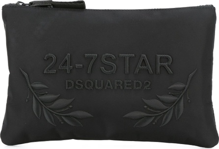 DSQUARED2 24-7 STAR logo pouch