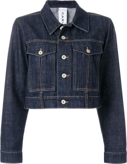 Carven Cropped denim jacket