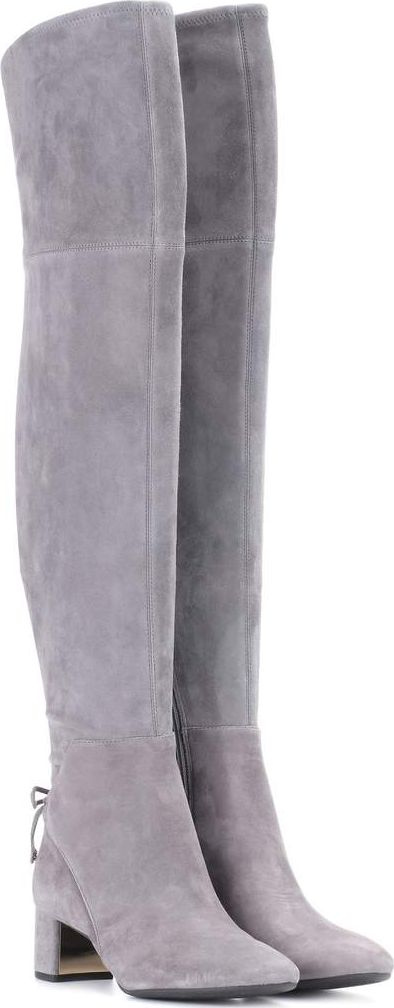 d58c701ae0f Tory Burch Suede Over The Knee Boots - Best Picture Of Boot Imageco.Org