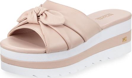 MICHAEL MICHAEL KORS Pippa Platform Slide Sandal with Bow