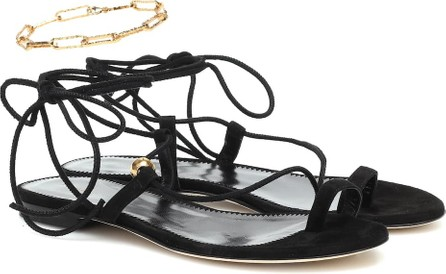Alighieri Exclusive to Mytheresa – The Stella embellished suede sandals