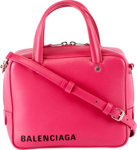 Balenciaga Triangle Square XS Leather Crossbody Bag
