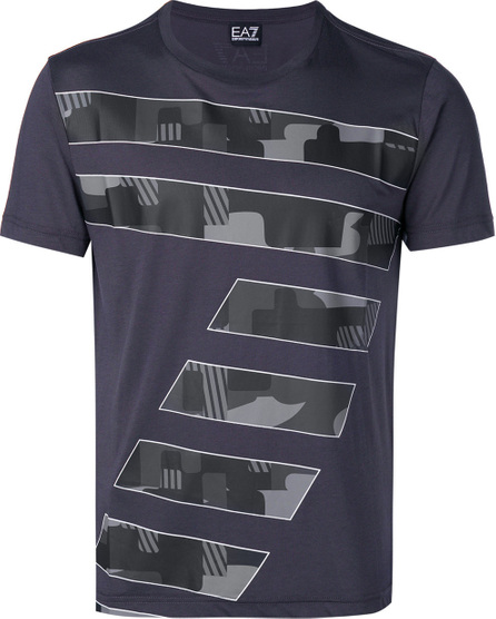 Ea7 Emporio Armani 7 print T-shirt