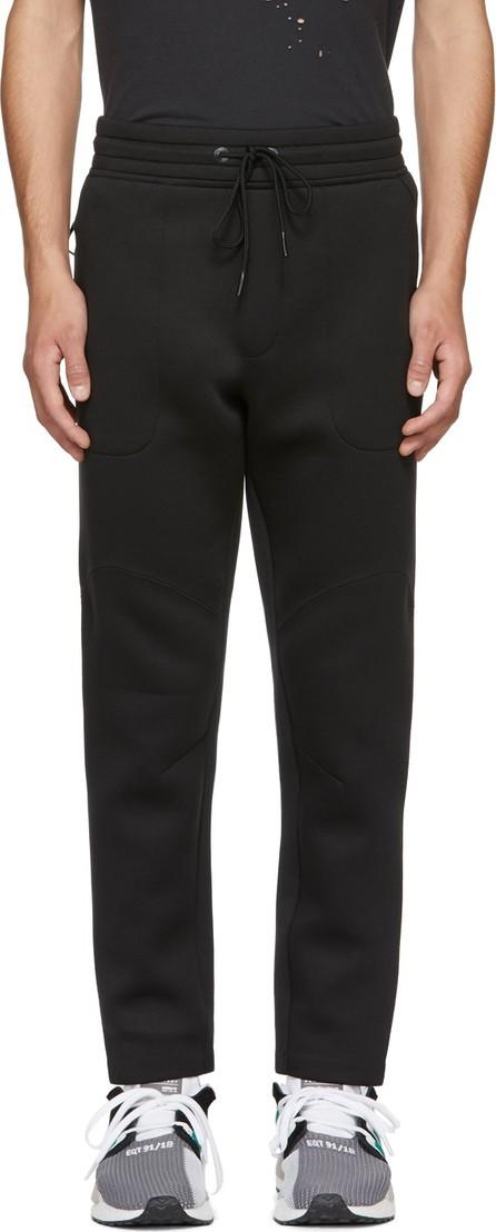 ISAORA SSENSE Exclusive Black Neoprene Lounge Pants