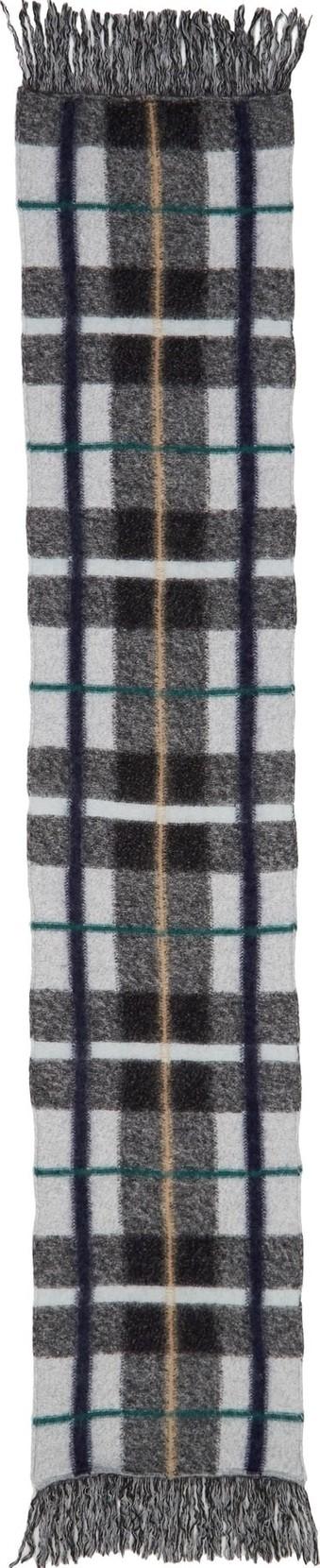 Stella McCartney Plaid Wool Scarf