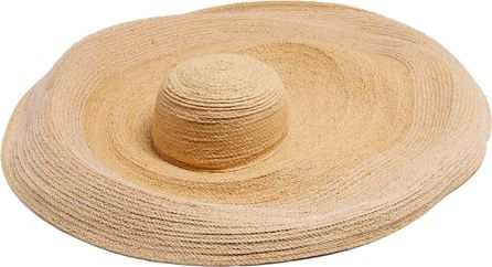 Lola Hats Extra-wide brim raffia hat