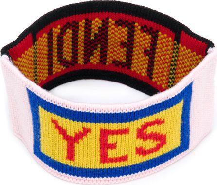 Fendi reversible knitted headband
