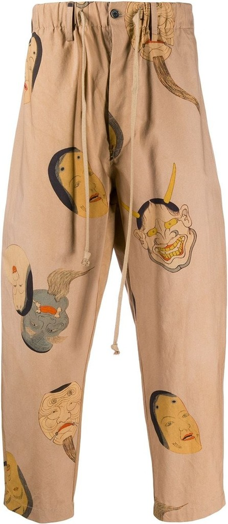 Uma Wang Monster print trousers