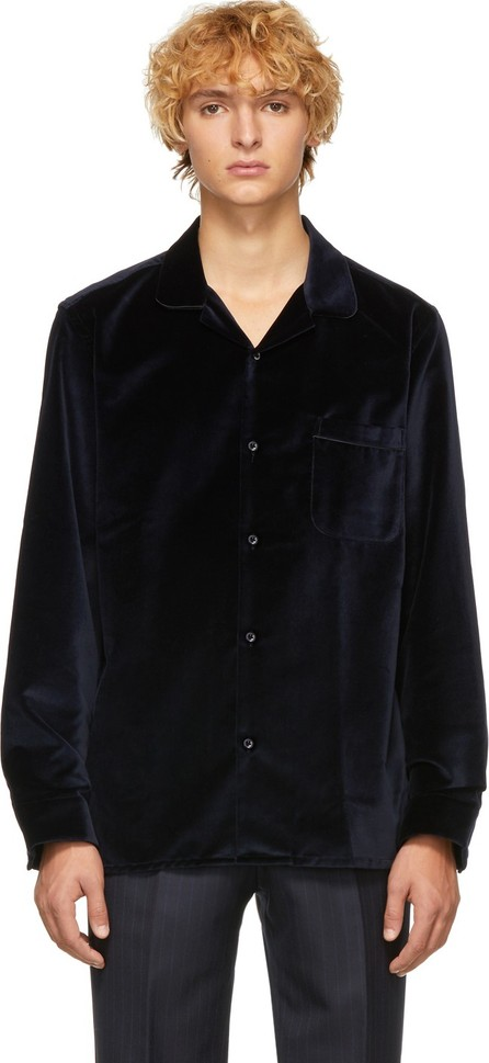 Cobra S.C. Navy Velvet Cabriolet Shirt