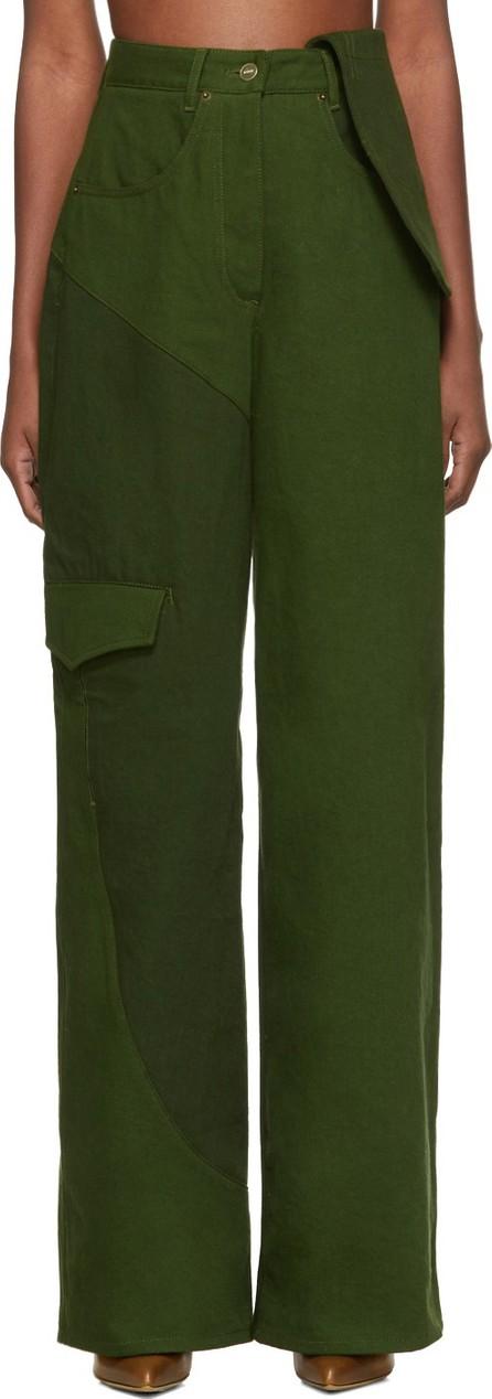 Jacquemus Green 'Le Jean De Nîmes' Jeans