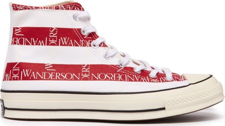Converse x JW Anderson Chuck 70 stars & stripes-printed canvas trainers