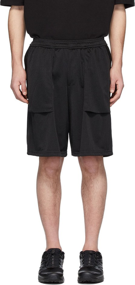 Goodfight Black Grocery Getter Shorts