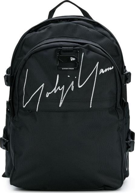 Yohji Yamamoto Embroidered signature backpack
