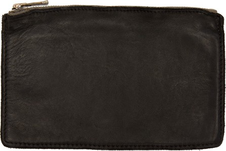 Guidi Black Horse Soft Zipped Wallet