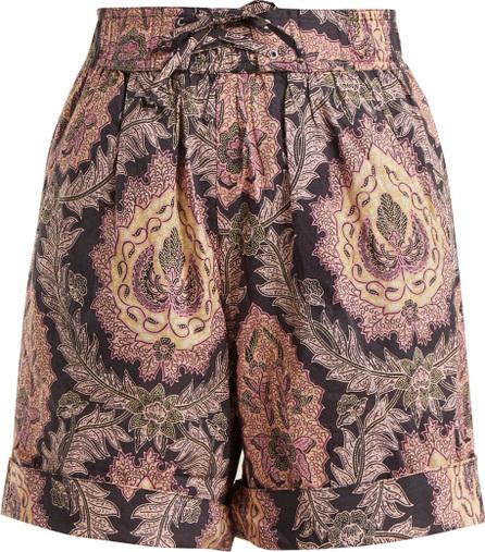 Isabel Marant Ibo floral-print cotton shorts