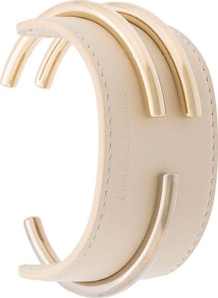 Jil Sander gold-tone cuff