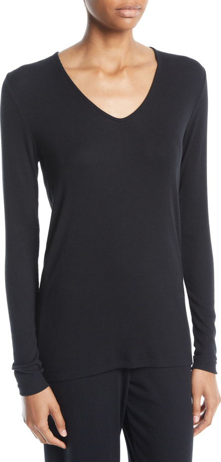 SKIN Nadya V-Neck Jersey Top