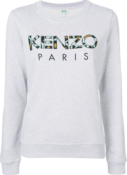 KENZO Embroidered logo sweatshirt