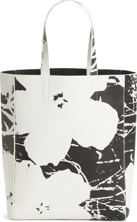 Calvin Klein 205W39NYC x Andy Warhol Foundation Flowers Leather Tote