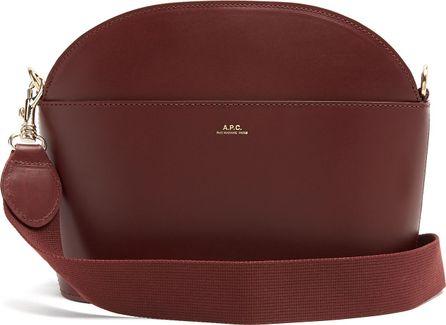 A.P.C. Gabrielle leather cross-body bag