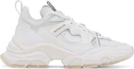 Moncler White Tyana Sneakers