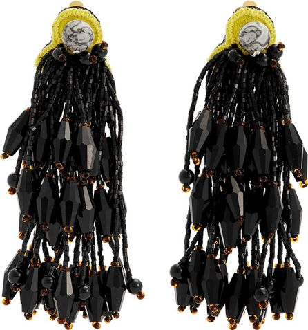Etro Bead-embellished tassel earrings