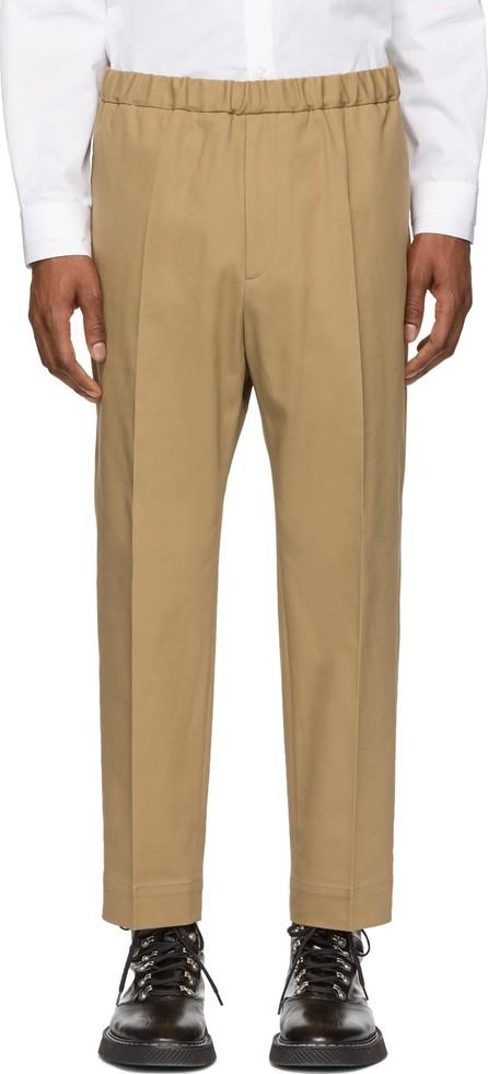 Jil Sander Beige Classic Trousers