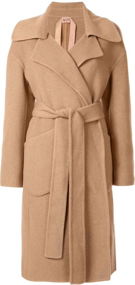 Nº21 Belted trench coat