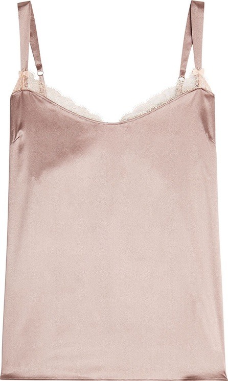 Heidi Klum Intimates Egyptian Beauty Silk Camisole with Lace