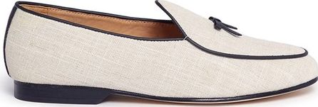 Bing Xu 'Belgian' bow canvas loafers