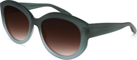 Barton Perreira Patchett Ombre Oval Sunglasses