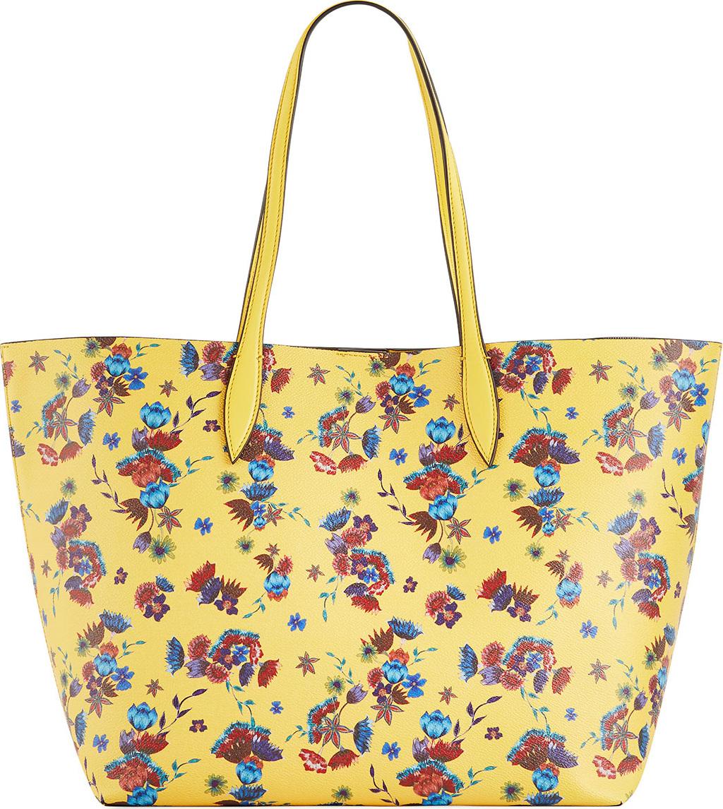 Rebecca Minkoff - Heather Large Floral-Print Shoulder Tote Bag
