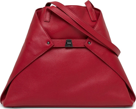 Akris 'Ai Medium Shoulder Tote' Leather Shoulder Tote