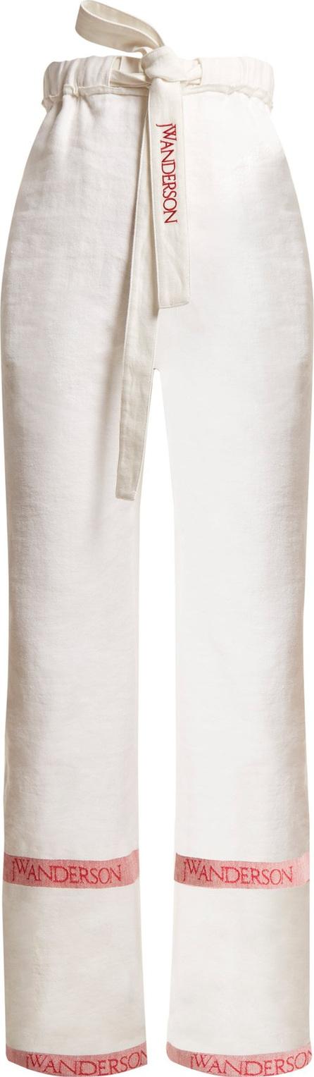 J.W.Anderson Wide-leg linen trousers