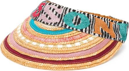 Missoni Embroidered logo visor
