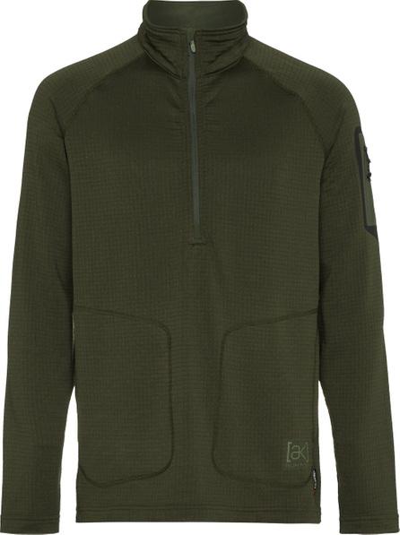 Burton Grid Half-Zip long sleeve top