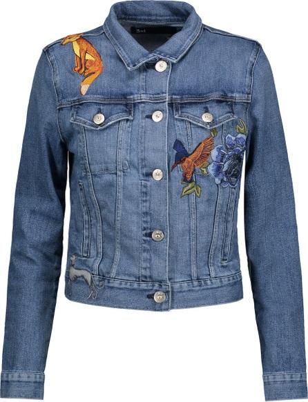 3X1 Embroidered denim jacket