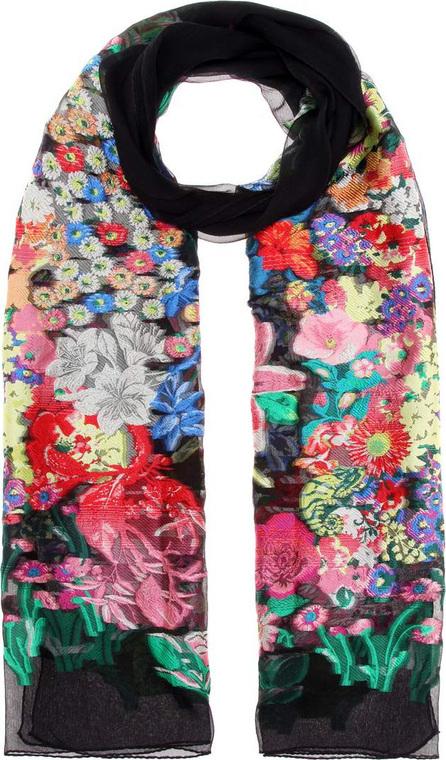 Etro Floral-printed silk-blend scarf