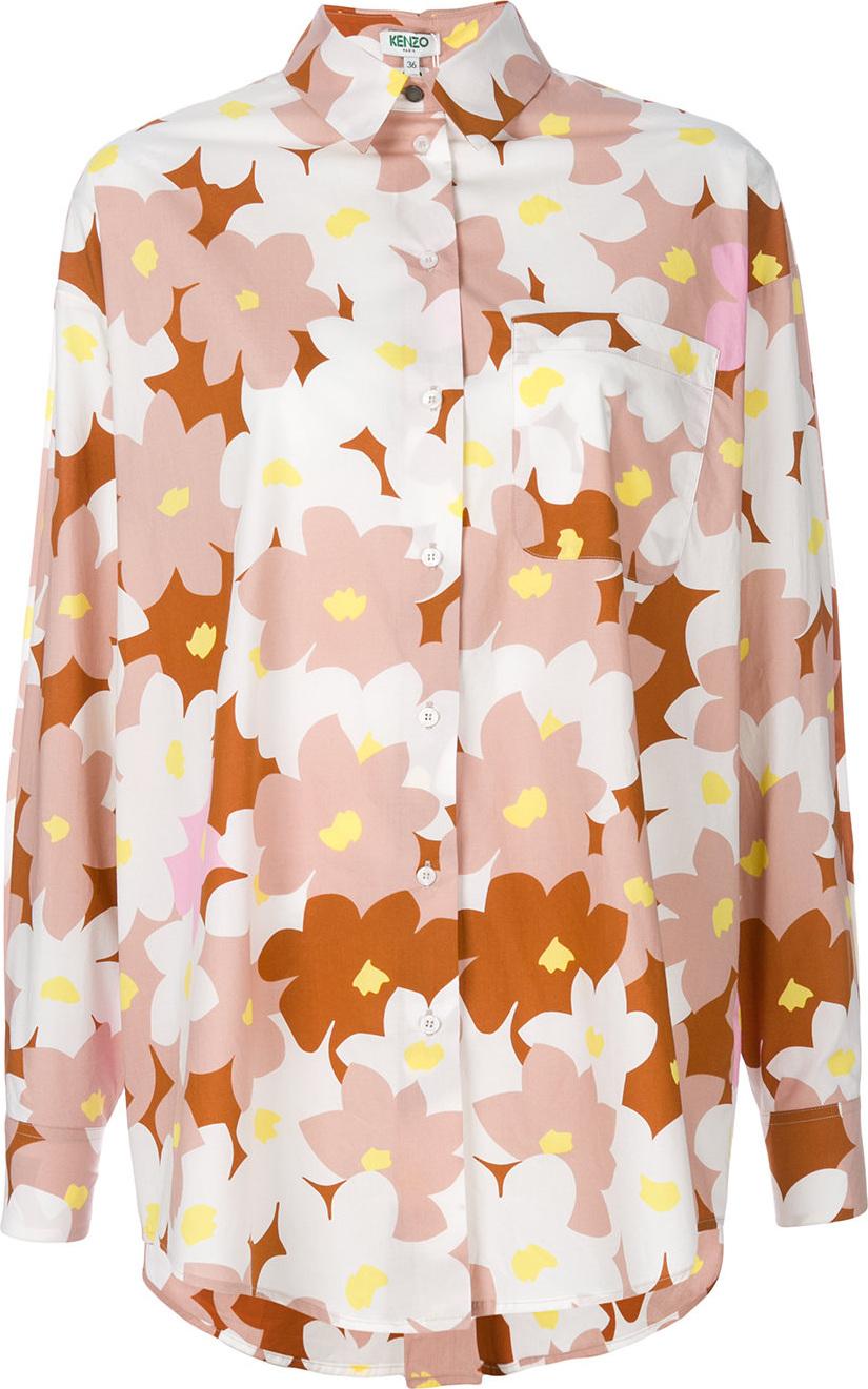 KENZO - Floral print shirt