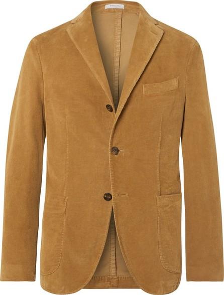 Boglioli Tan K-Jacket Slim-Fit Unstructured Stretch-Cotton Corduroy Suit Jacket
