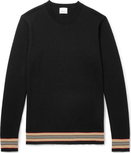 Burberry London England Striped Merino Wool Sweater