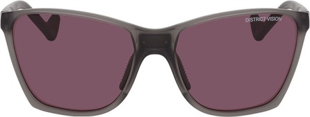 District Vision Grey & Pink Keiichi Sunglasses