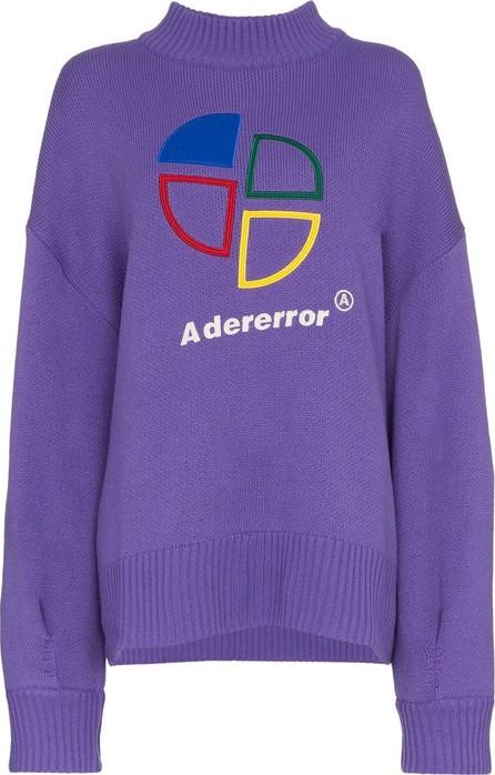 ADER error Logo Print Wool Jumper
